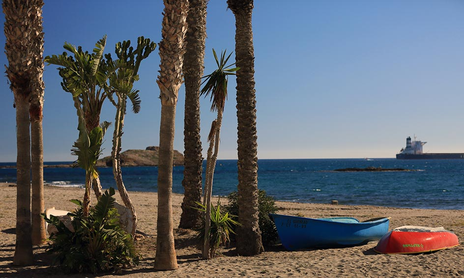 Playa de los Barquicos o los Cocones